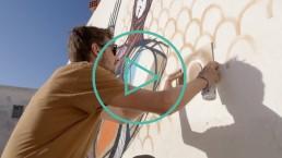 Bienvenue à Djerbahood #4 : Painting in Progress